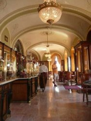 Cтаринное кафе Венгрии